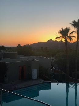 Arizona is GORG. This is the Sunset in Scottsdale.